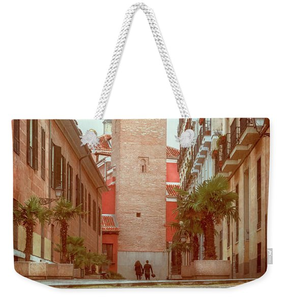 Old Church In Madrid Spain Weekender Tote Bag
