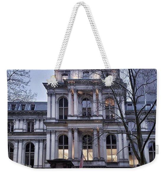 Old City Hall, Boston Weekender Tote Bag