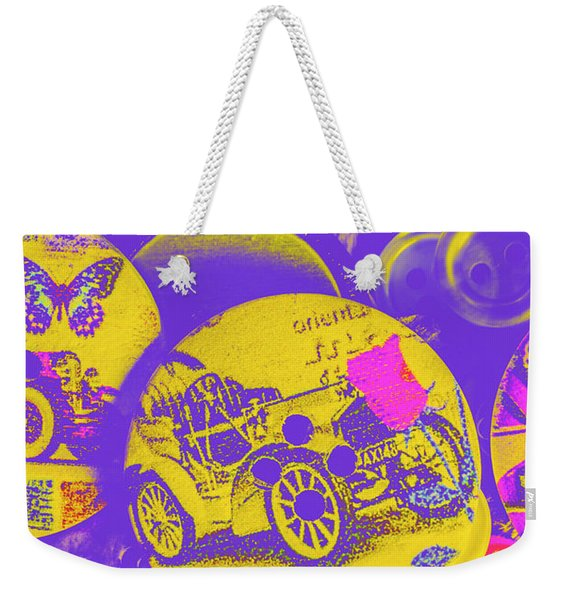 Old Fashion Fix Weekender Tote Bag
