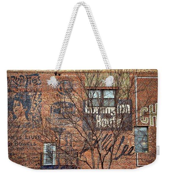 Old Market - Omaha - Metz Building - #1 Weekender Tote Bag