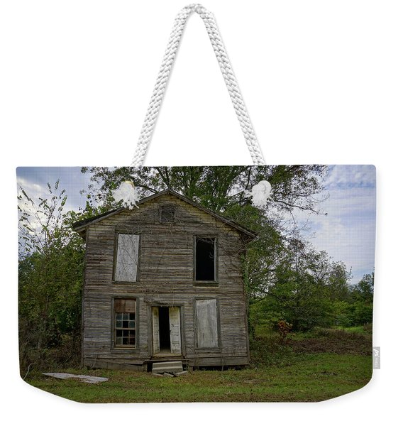 Old Masonic Lodge In Ruins Weekender Tote Bag