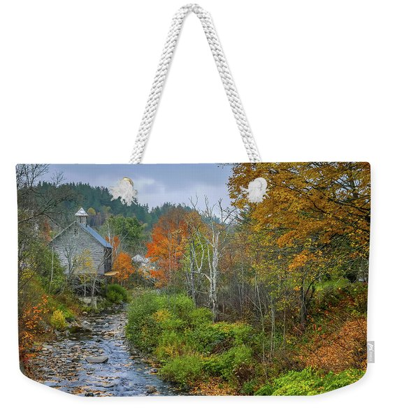 Old Mill New England Weekender Tote Bag