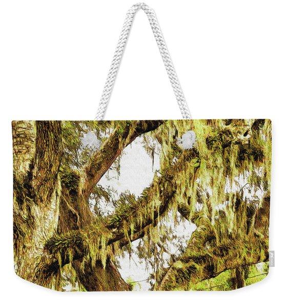 Old Mossy Oaks Weekender Tote Bag