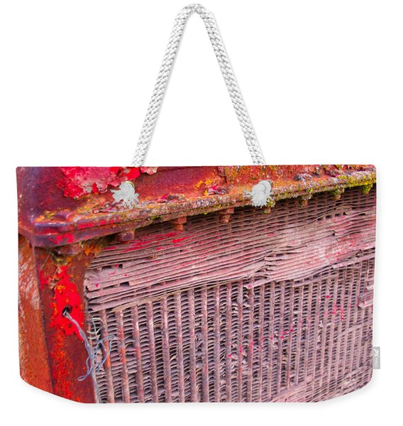 Old Red Weekender Tote Bag