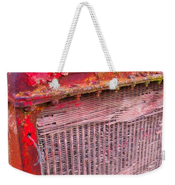 Old Red Weekender Tote Bag