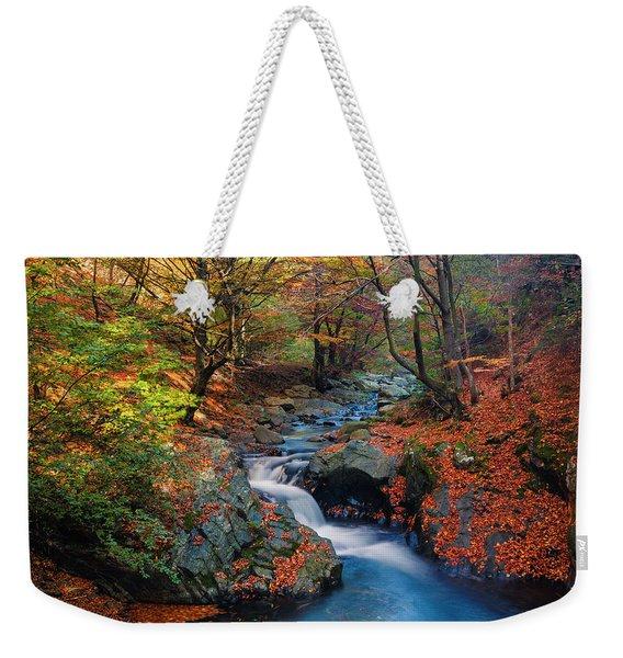 Old River Weekender Tote Bag