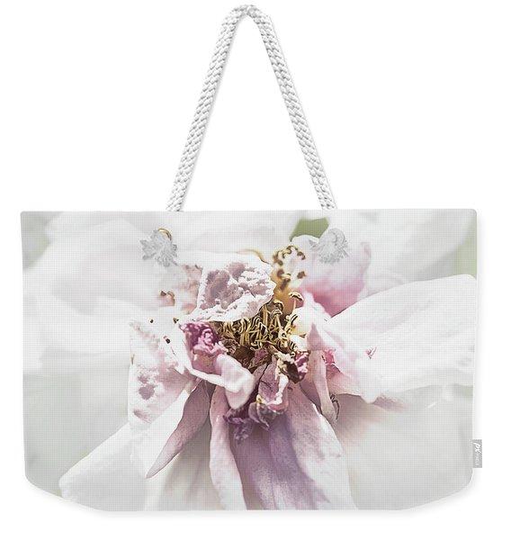 Old Rose Weekender Tote Bag