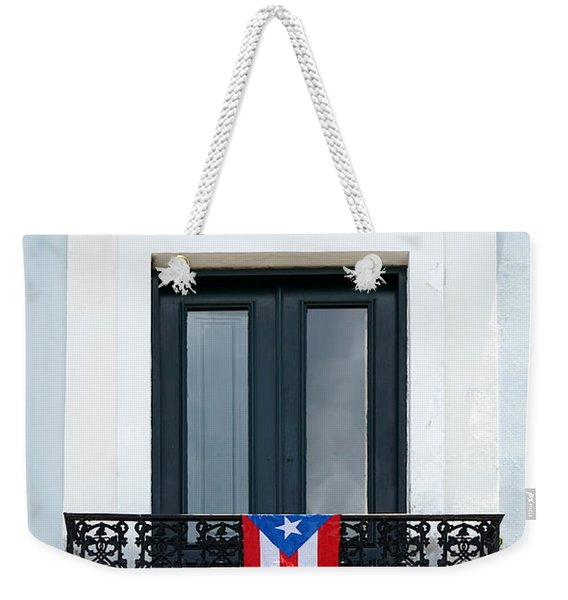 Old San Juan - Window Weekender Tote Bag