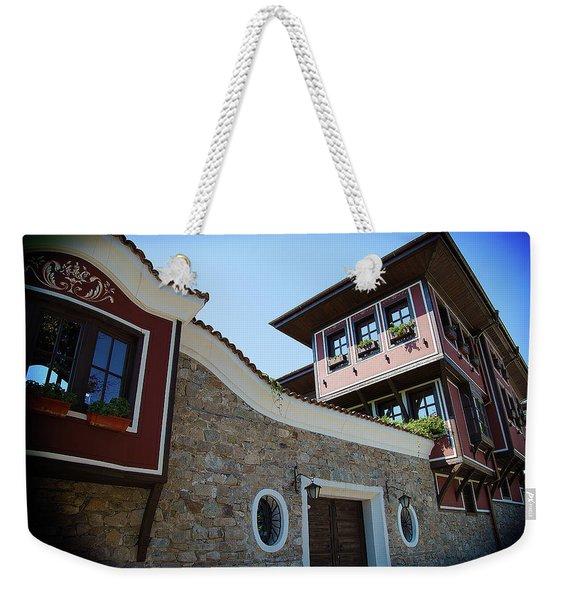 Old Town Plovdiv Weekender Tote Bag
