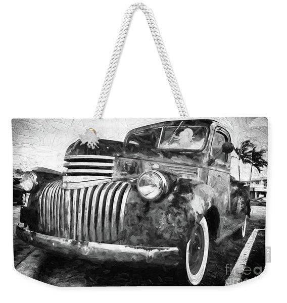 Old Truck  - Painterly Weekender Tote Bag