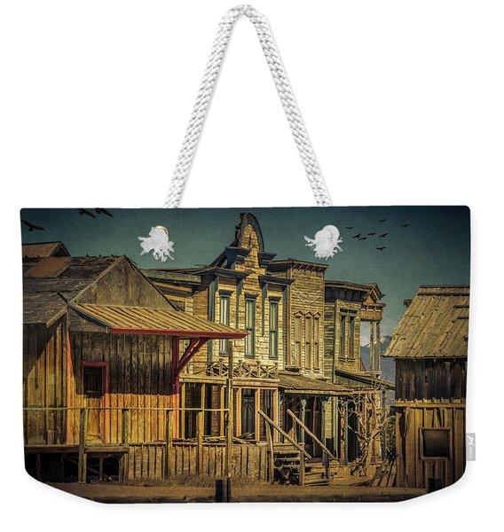 Old Western Town Weekender Tote Bag