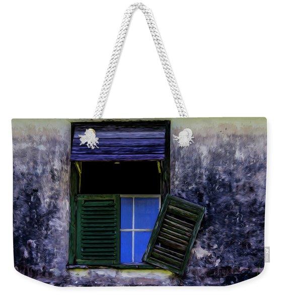 Old Window 2 Weekender Tote Bag