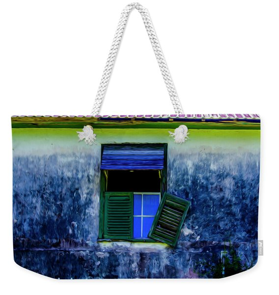 Old Window 3 Weekender Tote Bag