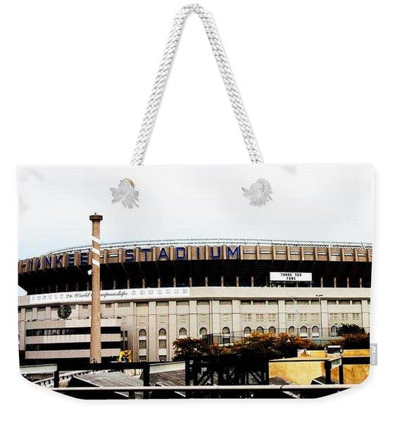 Old Yankee Stadium Weekender Tote Bag