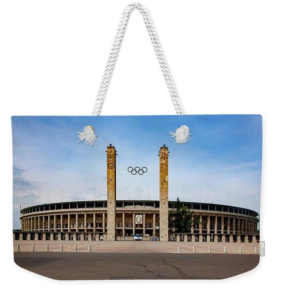 Olympic Stadium Berlin Weekender Tote Bag