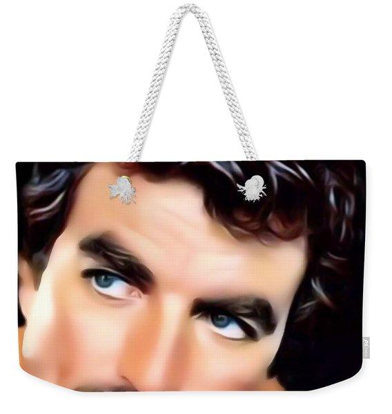 Tom Selleck Portrait Weekender Tote Bag