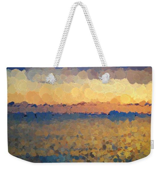 On The Horizon Weekender Tote Bag