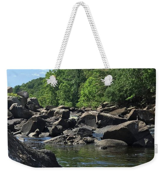 On The Occoquan Weekender Tote Bag