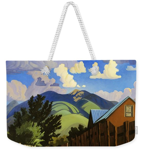 On The Road To Lili's Weekender Tote Bag