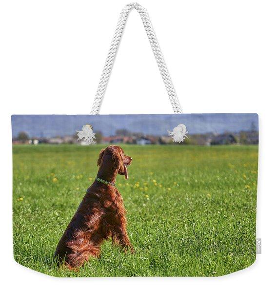 On The Watch Weekender Tote Bag