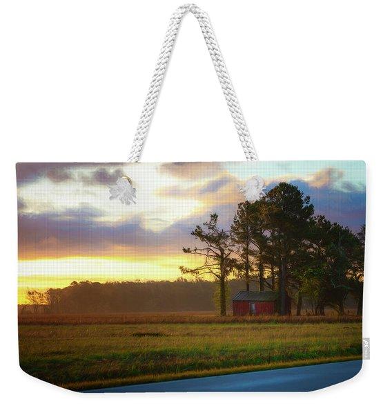 Onc Open Road Sunrise Weekender Tote Bag