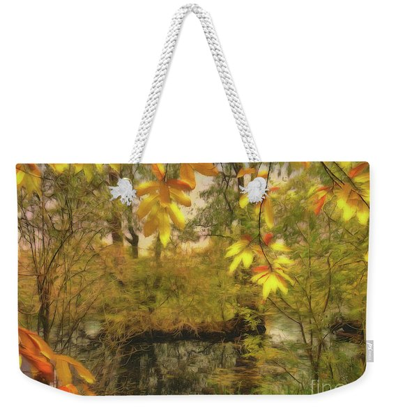 Once A Pond A Time Weekender Tote Bag