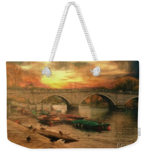Once More To The Bridge Dear Friends Weekender Tote Bag