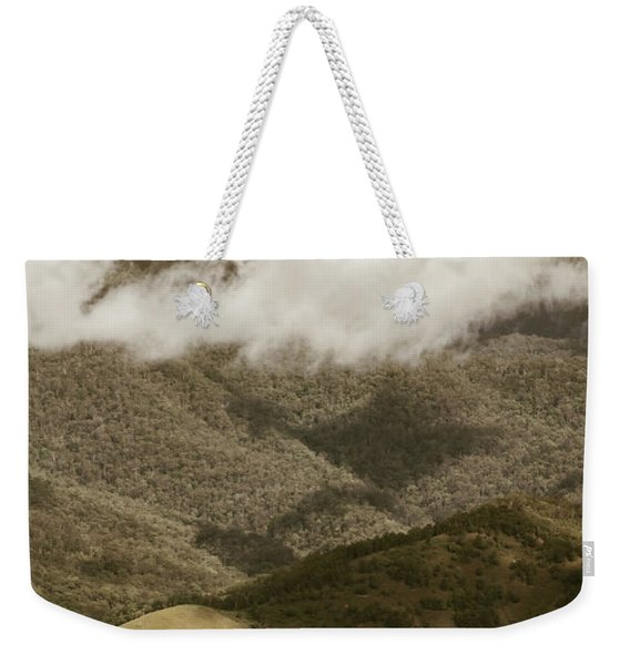 Oncoming Rains Weekender Tote Bag