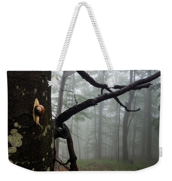 One Day Of The Snail's Life Weekender Tote Bag