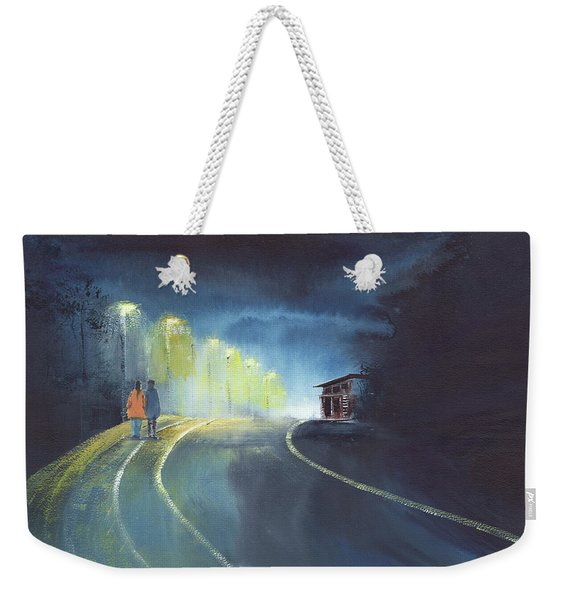 One Fine Rainy Evening Weekender Tote Bag