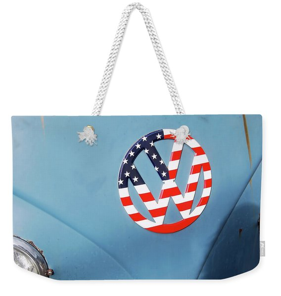 Weekender Tote Bag featuring the photograph One Love by JAMART Photography