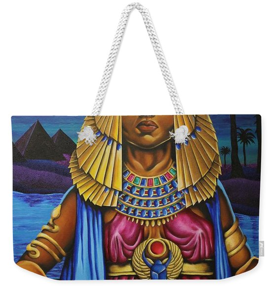 One Night Over Egypt Weekender Tote Bag