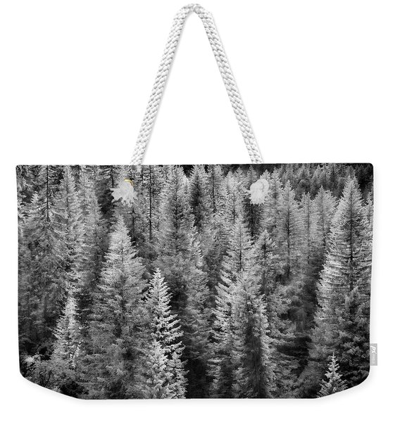 One Of Many Alp Trees Weekender Tote Bag