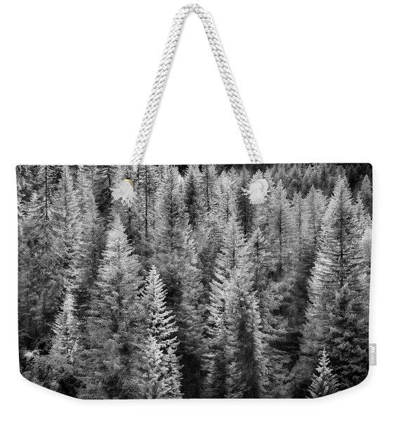One Of Many Alp Trees Weekender Tote Bag