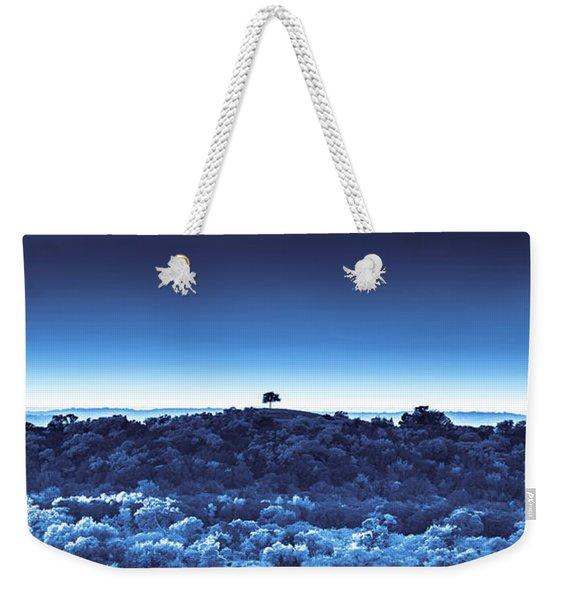 One Tree Hill -blue -2 Weekender Tote Bag