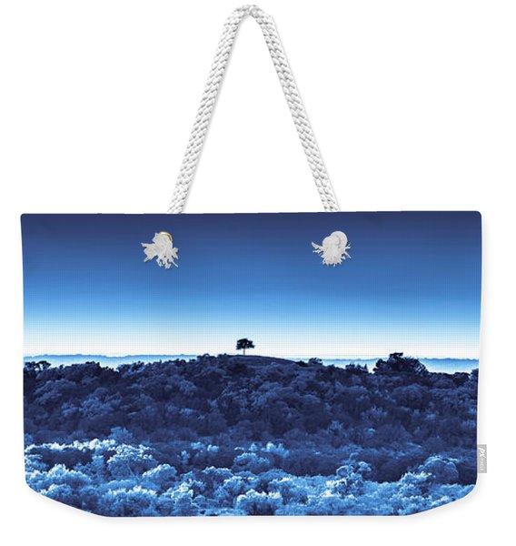 One Tree Hill - Blue Weekender Tote Bag