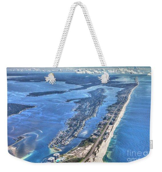 Ono Island-5112-tm Weekender Tote Bag