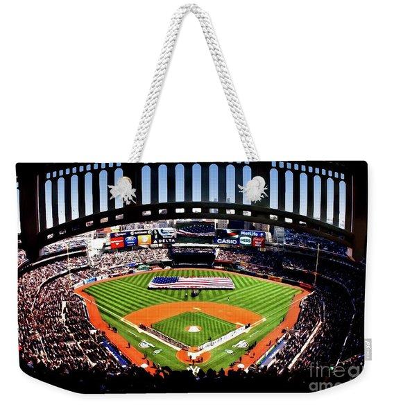 Opening Day Yankee Stadium Weekender Tote Bag
