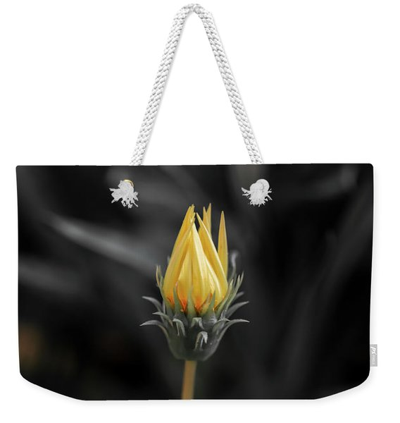 Opening Up Weekender Tote Bag