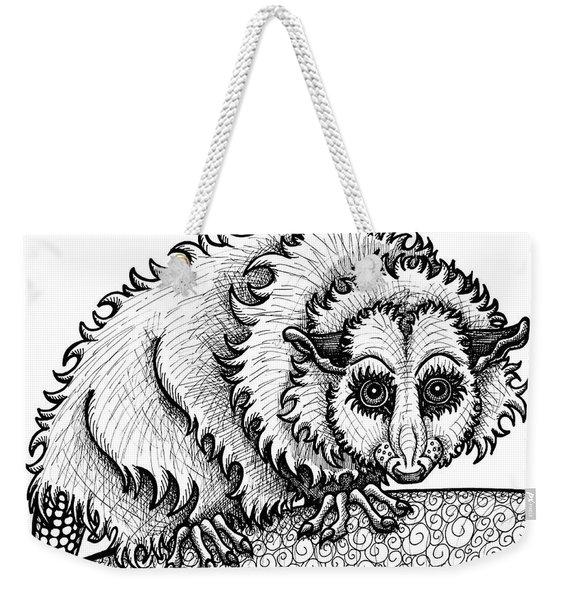 Opossum Weekender Tote Bag