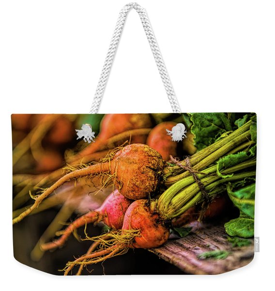 Orange Beets - Farmers Market  Weekender Tote Bag