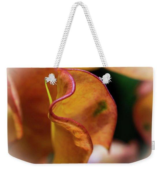 Orange Croton Weekender Tote Bag