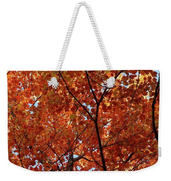 Orange Everywhere Weekender Tote Bag