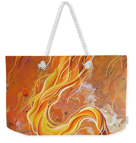 Orange Jelly Weekender Tote Bag