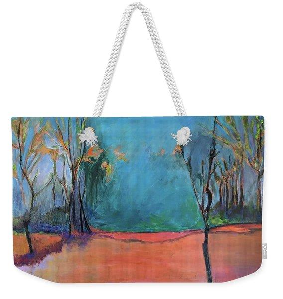 Orange Lake Weekender Tote Bag