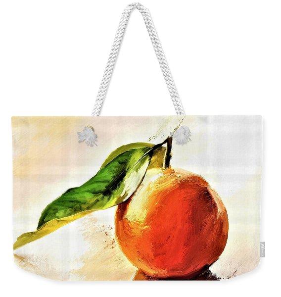 Orange Reflections Weekender Tote Bag