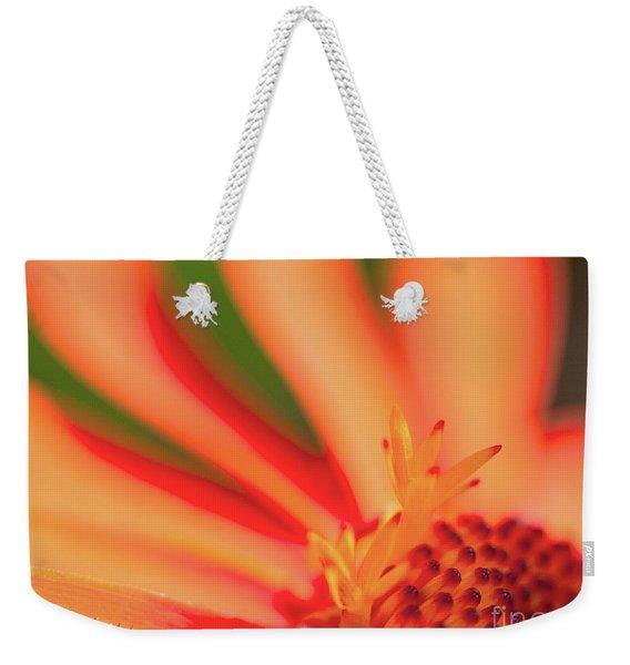 Orange Sunshine Weekender Tote Bag