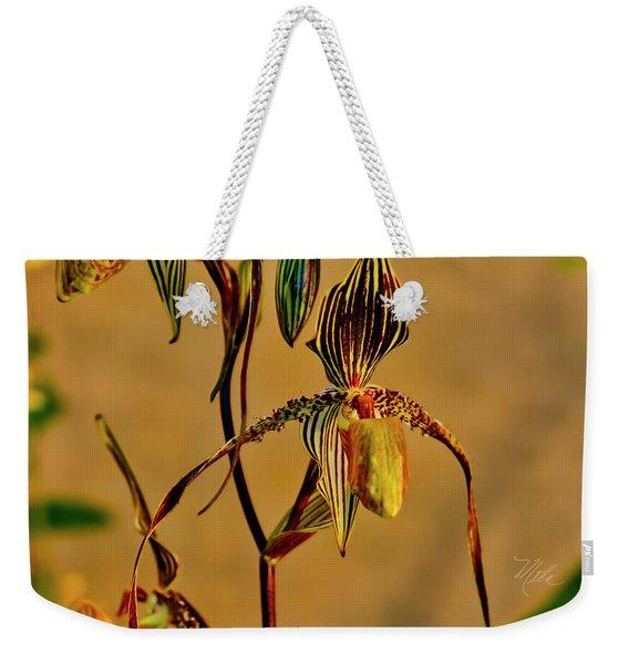 Orchid Study Eight Weekender Tote Bag