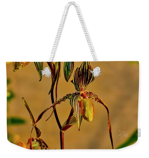 Orchid Study Eight Weekender Tote Bag