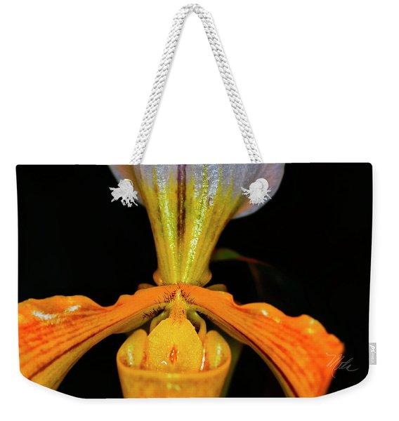 Orchid Study Five Weekender Tote Bag